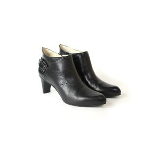 Cole Haan leather heeled ankle boots booties